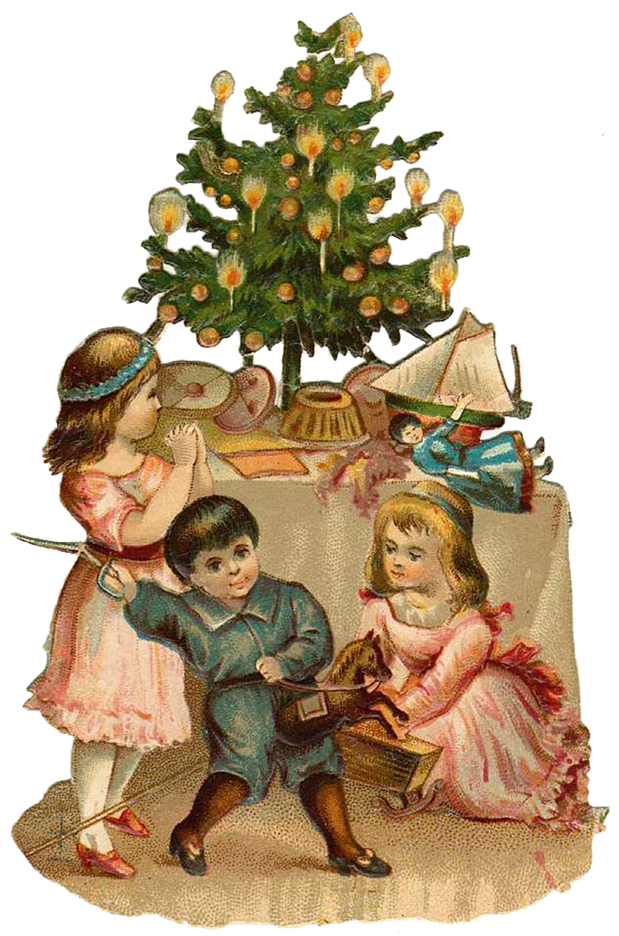 This is an image of Intrepid Free Victorian Christmas Images