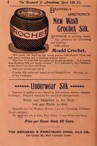 Vintage Advertisement - Needlework