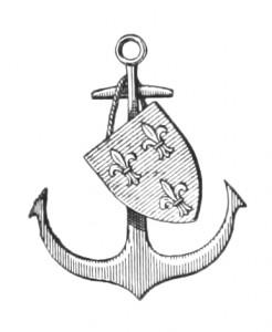 Vintage Anchor Clip Art