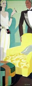 Vintage Art Deco Illustration