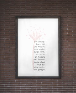 Free Printable Wall Art - Live Simply
