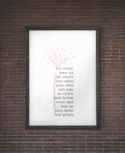 Free Printable Wall Art - Live Simply