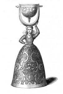 Vintage Clip Art - Bell Illustration