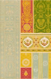 Vintage Silk Weaving Patterns