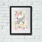 Free Printable Wall Art – Spring Poster