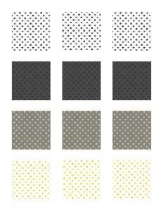 Free Printable Watercolor Polka Dot Label Stickers