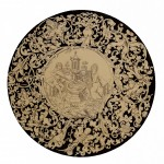Free Vintage Clip Art Ornamental Circle Illustration
