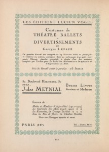 Free Vintage French Typography Advertisement