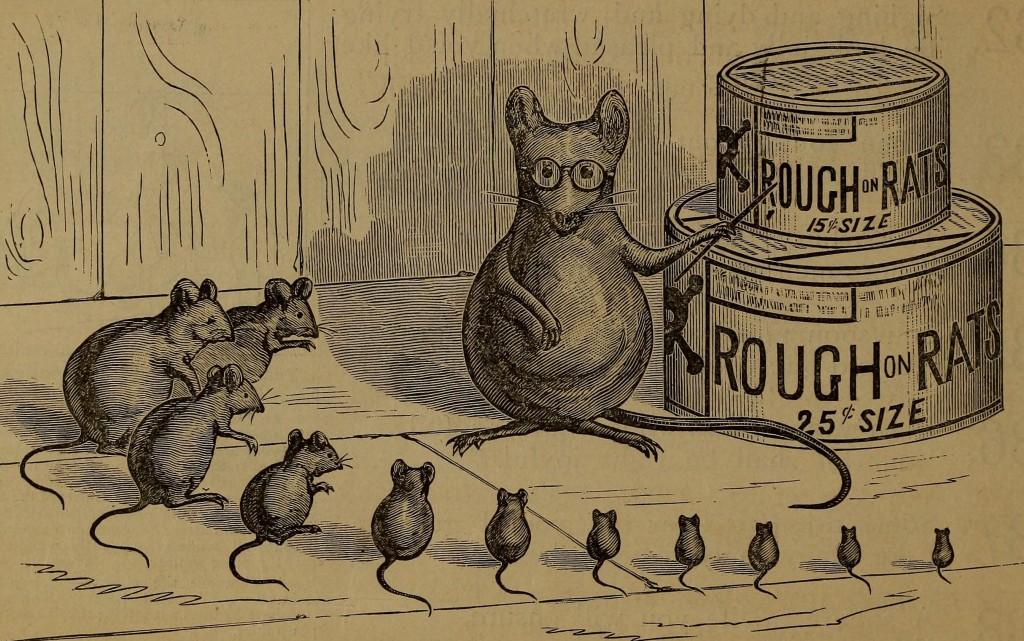 Free Printable Vintage Advertisements Rat Poison