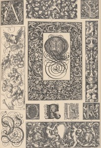 Typographic Ornament of the German Renaissance