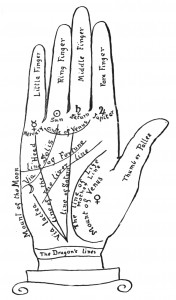 Free Vintage Palmistry Illustration